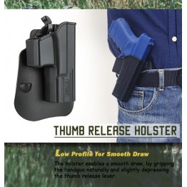 Komplet Cytac tok za pištolo 19  CY-MP-UB in tok za nabojnik