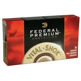 FEDERAL PREMIUM  223REM BARNES TRIPLE-SHOCK, 55gr