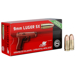 GECO  9mm LUGER SX – SUPER CLEAN, 8,0g
