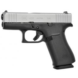 Glock 43X FS Silver Slide