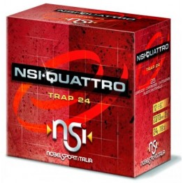 Nobel Sport trap strelivo NSI QUATTRO- TRAP 24 (7 ½ – 2,4mm)